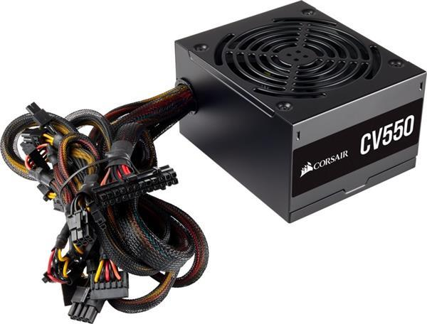 Grote foto cv550 power supply unit 550 w 20 4 pin atx atx zwart computers en software overige computers en software