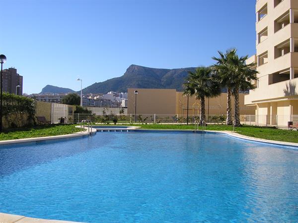Grote foto spanje calpe appartement aan zee met zwembad vakantie spaanse kust