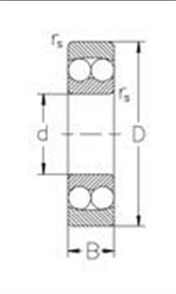Grote foto kogellager zelfinstellend 11205 tn zen 25x52x44 mm doe het zelf en verbouw onderdelen en accessoires