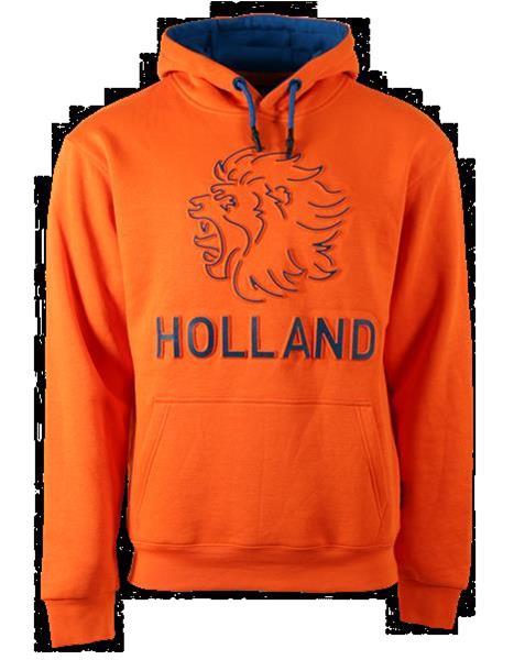 Grote foto fox originals holland embossed hooded sweater maat xl kleding heren truien en vesten