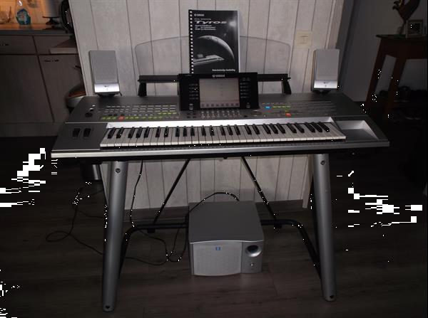 Grote foto yamaha tyros 1 muziek en instrumenten keyboards