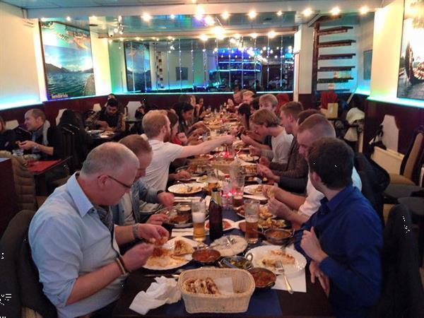 Grote foto halal indian restaurant in amsterdam vakantie europa noord