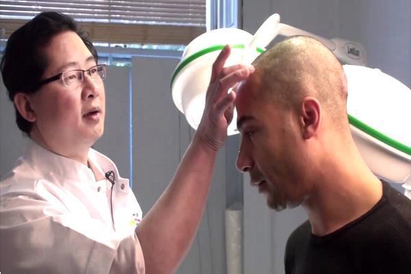 Grote foto haarstamcel transplantatie diensten en vakmensen haartransplantatie