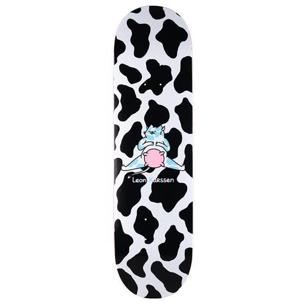Grote foto leon karssen scowtboard skateboard deck black multi 8.5 kinderen en baby los speelgoed