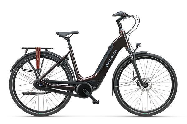 Grote foto sparta c grid energy m7tb damesfiets 7 dark brownred gloss fietsen en brommers elektrische fietsen
