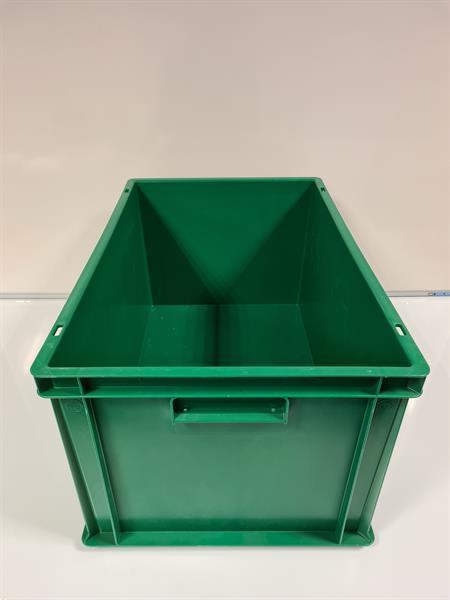 Grote foto 60x40x32 kunststof bak groen pp gesloten verstevigde bod doe het zelf en verbouw materialen en producten