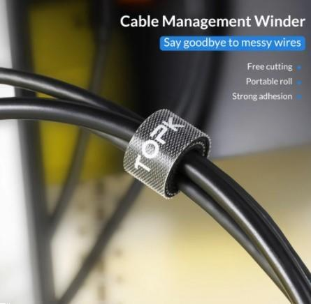 Grote foto topk kabel organizer kabel klemmen 3 meter organiseer verzamelen overige verzamelingen
