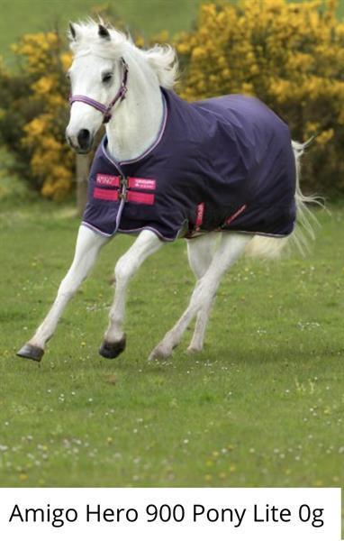 Grote foto horseware amigo hero acy pony regendeken nieuw dieren en toebehoren dekens en dekjes