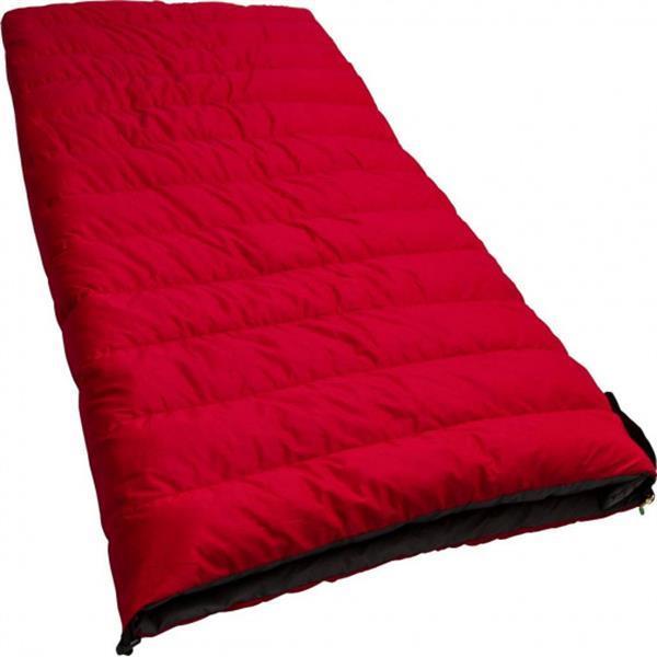 Grote foto slaapzak ranger lite 210 x 80 cm nylon rood caravans en kamperen overige caravans en kamperen
