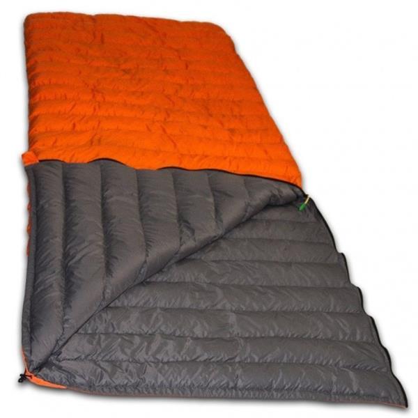 Grote foto slaapzak super compact r 210 x 80 cm nylon oranje caravans en kamperen overige caravans en kamperen