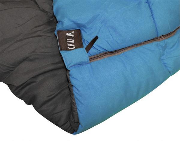Grote foto slaapzak chili junior 170 x 70 cm polyester blauw caravans en kamperen overige caravans en kamperen
