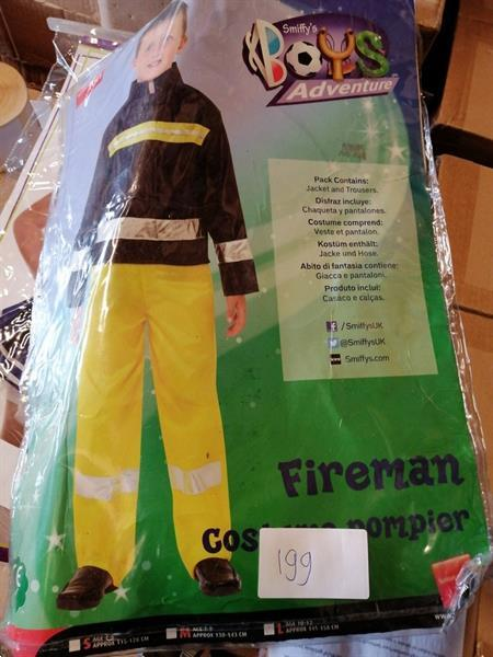 Grote foto brandweerman maat 10 12 jaar diversen overige diversen