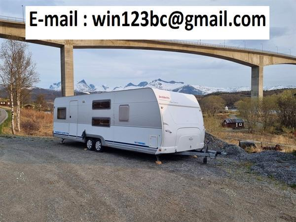 Grote foto schenking caravans dethleffs new line 720 sk caravans en kamperen caravans
