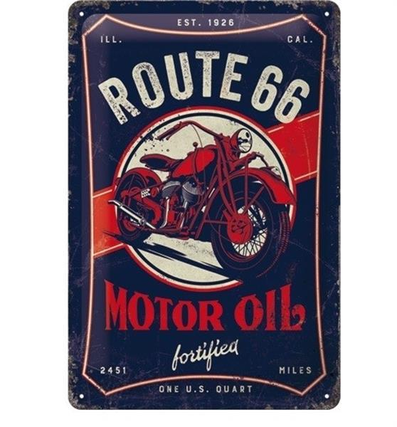 Grote foto route 66 motor oil reclamebord verzamelen overige verzamelingen