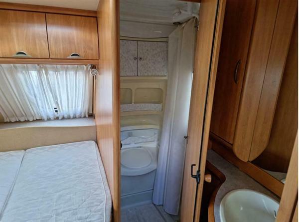Grote foto hobby excellent easy 4.95 ufe 2006 vast bed caravans en kamperen caravans