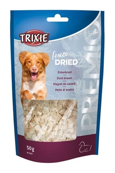 Grote foto trixie premi freeze dried eendenborst 50 gr dieren en toebehoren toebehoren