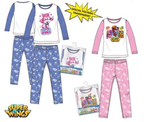 Grote foto super wings pyjama roze maat 6 116 kinderen en baby overige