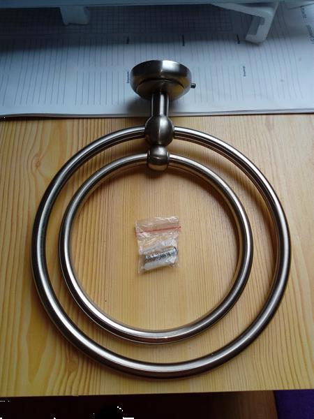 Grote foto handdoek hanger van chroom huis en inrichting onderdelen en accessoires