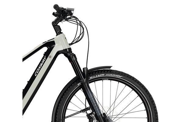Grote foto conway xyron c 427 e bike herenfiets 27.5 inch licht grijs z fietsen en brommers elektrische fietsen