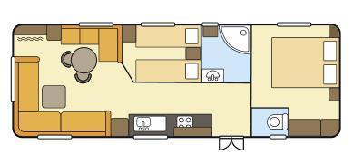 Grote foto tweedehands ultimate stacaravan 900x300cm slechts 11.000 caravans en kamperen stacaravans