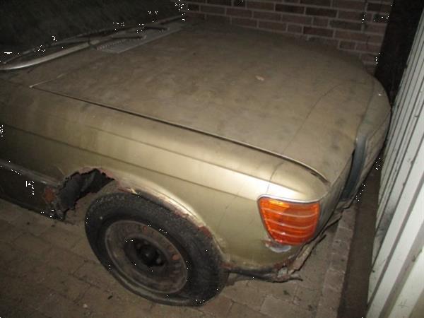 Grote foto mb w116 1974 voor onderdelen auto mercedes
