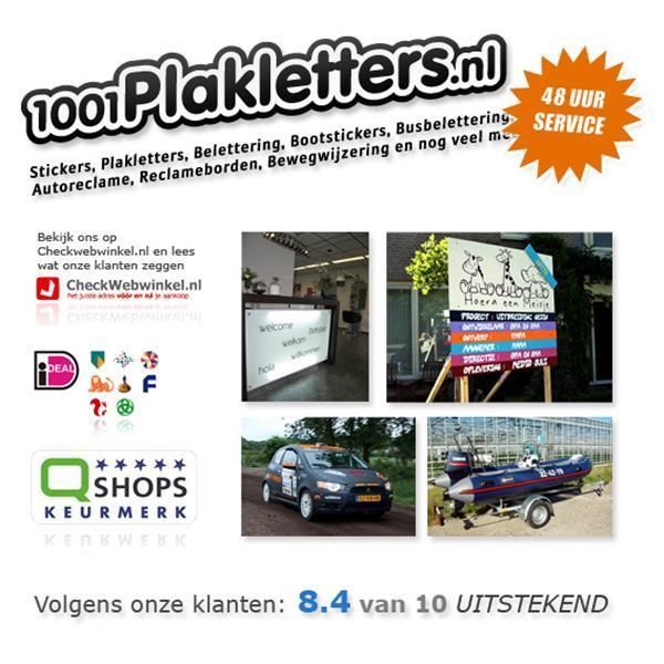 Grote foto plakletters bestellen zakelijke goederen kantoorartikelen