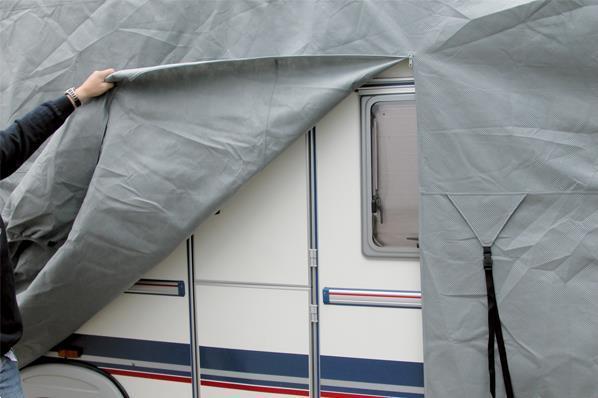 Grote foto caravanhoes caravan beschermhoes met sfs 3... caravans en kamperen overige caravans en kamperen