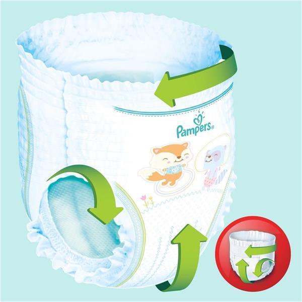 Grote foto pampers baby dry pants maat 4 58 luierbroekjes kinderen en baby dekens en slaapzakjes