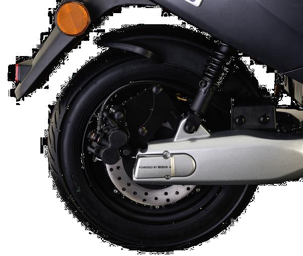 Grote foto iva e go s3 special mat zwart bij central scooters kopen fietsen en brommers scooters