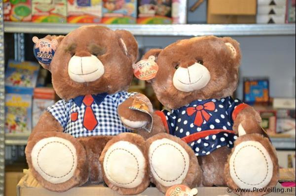 Grote foto online veiling beer 2 stuks kinderen en baby knuffels en pluche