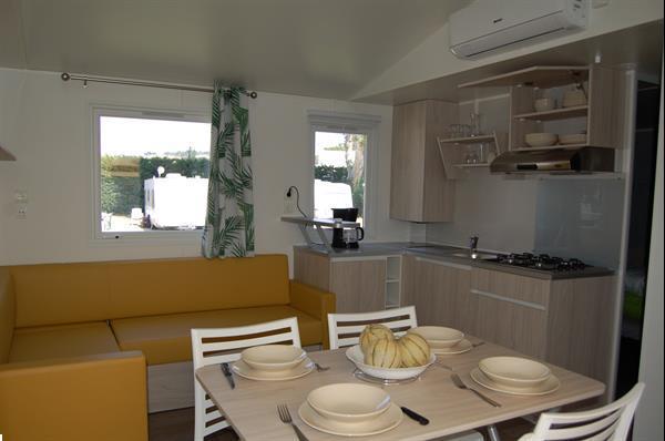 Grote foto geclimatiseerde mobile home vakantie frankrijk
