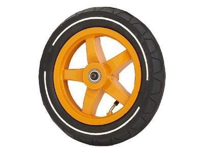 Grote foto wiel oranje 12.5x2.25 8 slick pro aandrijf kinderen en baby skelters