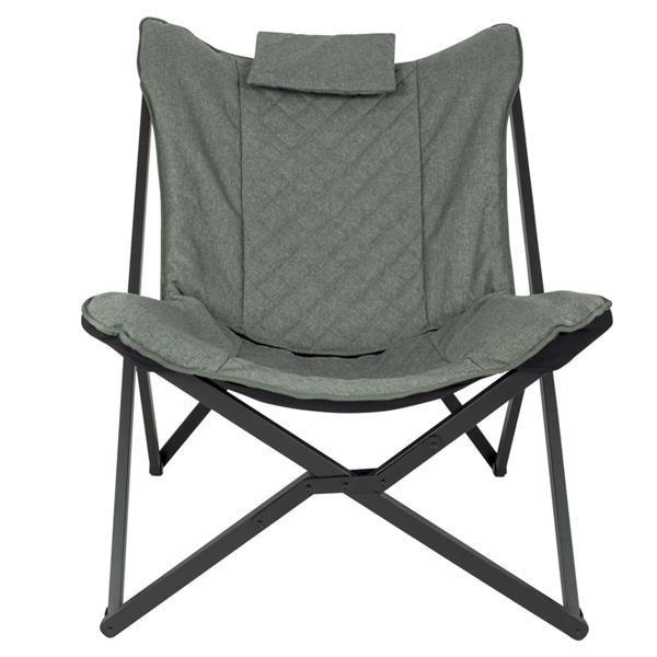 Grote foto bo camp relaxstoel molfat groen caravans en kamperen kampeertoebehoren