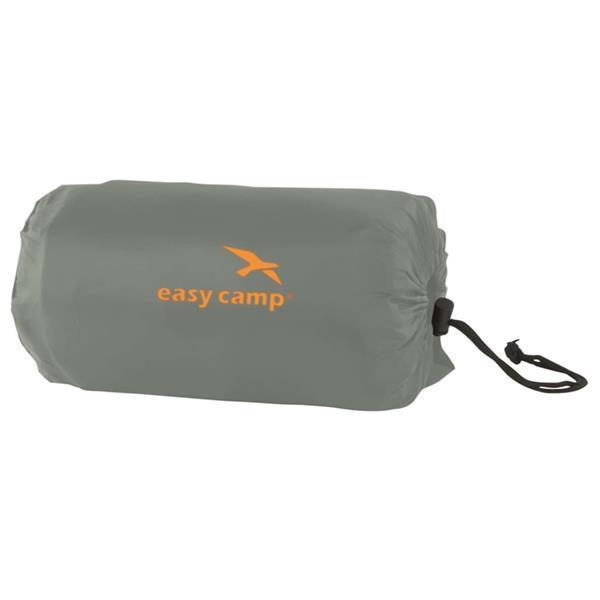 Grote foto easy camp luchtbed siesta eenpersoons 5 cm grijs caravans en kamperen kampeertoebehoren