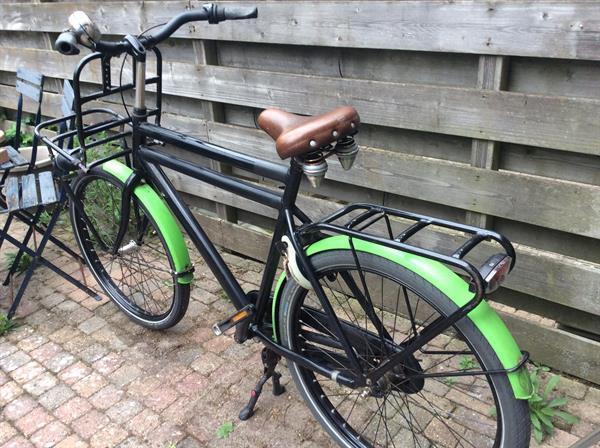 Grote foto stevige transport fiets fietsen en brommers herenfietsen