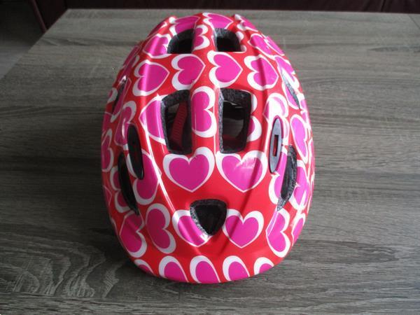 Grote foto kinderhelm rose fietsen en brommers helmen
