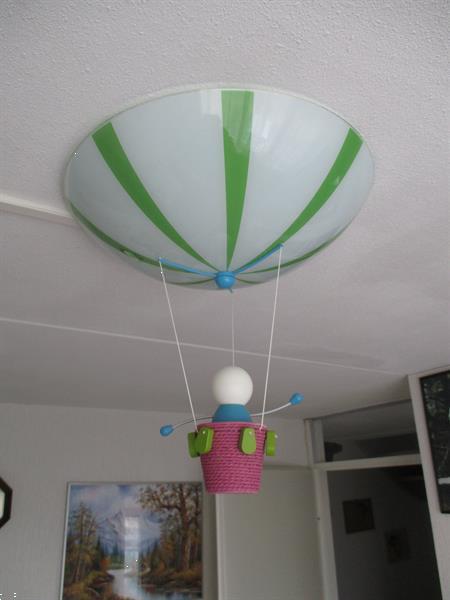Grote foto parachuut lamp kinderen en baby inrichting en decoratie
