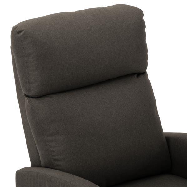 Grote foto vidaxl massagestoel verstelbaar stof taupe beauty en gezondheid massage
