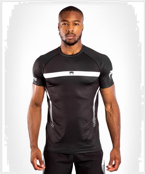 Grote foto venum nogi 3.0 dry tech t shirt zwart wit kies uw maat s sport en fitness vechtsporten en zelfverdediging