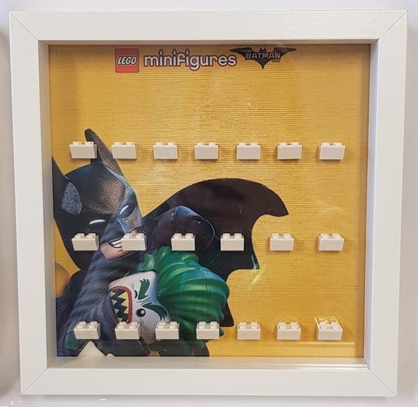 Grote foto lego display cmf serie batman1 kinderen en baby duplo en lego