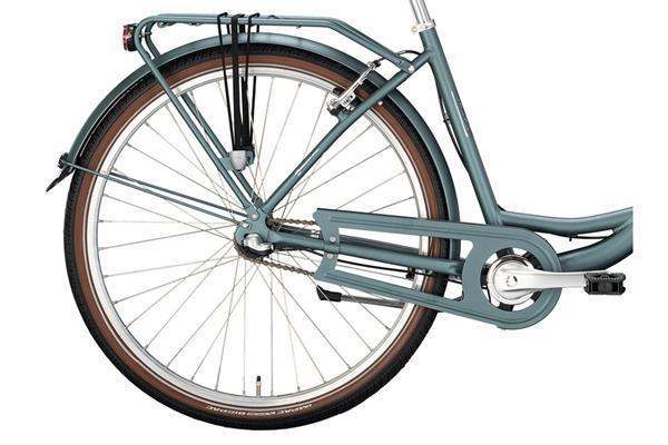 Grote foto excelsior swan urban damesfiets grijs mat blauw 3v fietsen en brommers damesfietsen