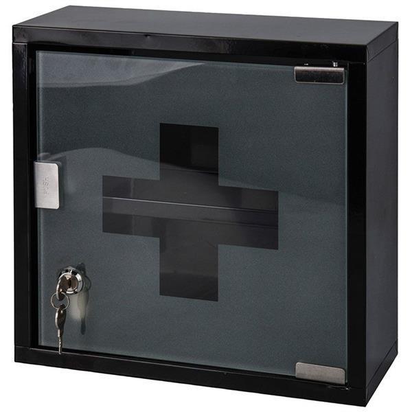 Grote foto medicijnkastje rvs zwart huis en inrichting complete badkamers