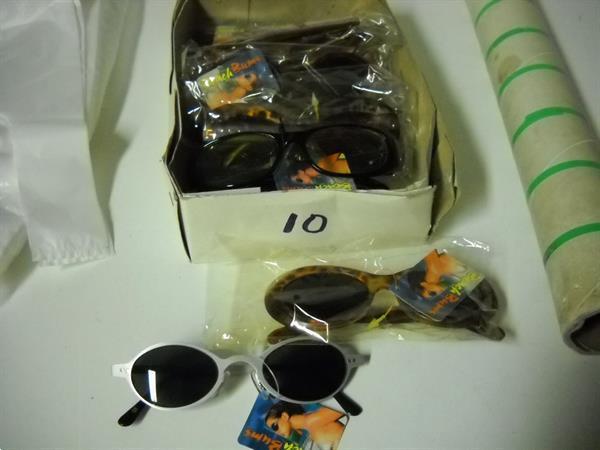 Grote foto zonnebrillen 10 stuks diversen overige diversen