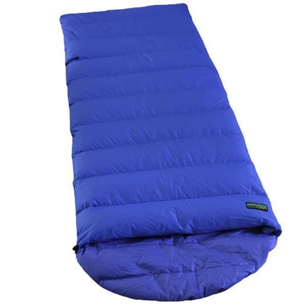 Grote foto slaapzak ranger comfort nc 230 x 80 cm nylon blauw caravans en kamperen overige caravans en kamperen
