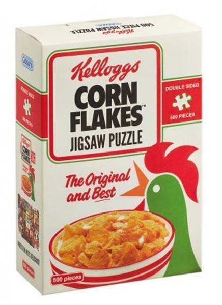 Grote foto gibsons kellogg cornflakes puzzel 500 stukjes g3805 kinderen en baby puzzels