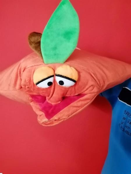Grote foto fruity kussen cq handpop sinasappel 1 stuks ww19 95 kinderen en baby overige