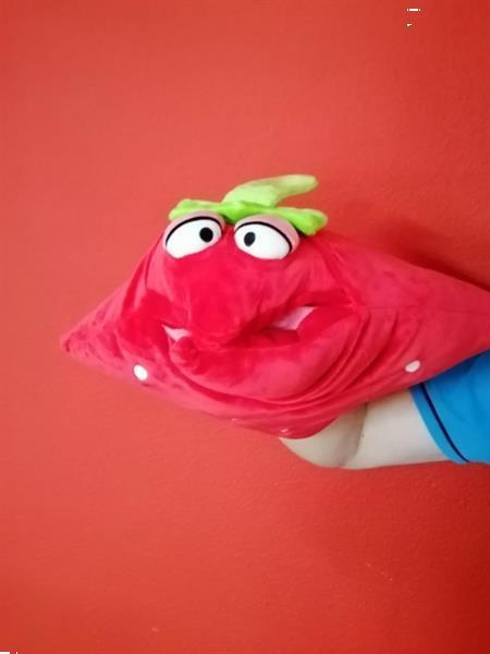 Grote foto fruity kussen cq handpop aardbei 1 stuks ww19 95 kinderen en baby overige