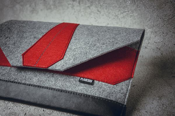 Grote foto exklusive laptophoes notebook. made in eu. v2 computers en software tassen en hoezen