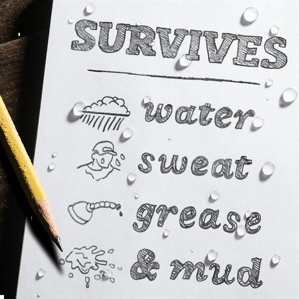 Grote foto rite in the rain all weather notebook no. 935 groen notitie caravans en kamperen overige caravans en kamperen