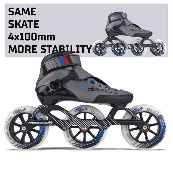 Grote foto cadomotus agility 3 skeeler 3x125mm 46 kinderen en baby skelters